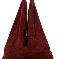 The Row - Bindle suede shoulder bag