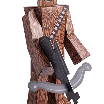 "12"" Chewbacca Star Wars Papercraft Action Figure"