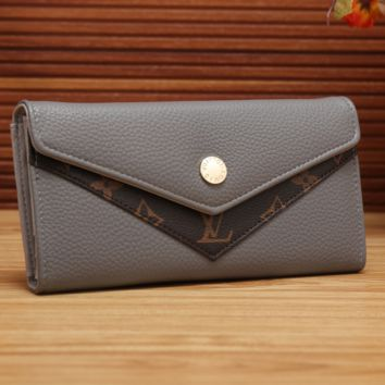 LV fashion women's long wallet[380321497124]