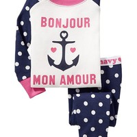 Anchor-Graphic PJ Sets for Baby