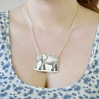 Elephant Necklace - Bows Jewellery