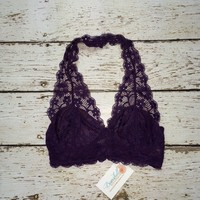 Lace Bra / Bralette in Plum