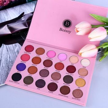 24 Colors Profession Opaque Makeup Palette Eyeshadow Women Waterproof Makeup Shimmer Eye Shadow Set Palette