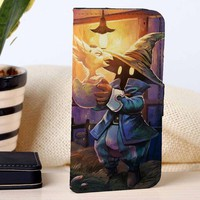 Chocobo Final Fantasy | Video Games | custom wallet case for iphone 4/4s 5 5s 5c 6 6plus case and samsung galaxy s3 s4 s5 s6 case