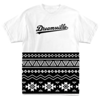 TRIBAL WHITE TEE