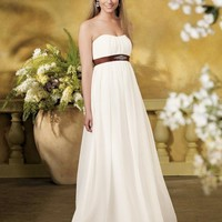 Buy Eegant Chiffon Gown Draped Bodice Sweetheart Neckline A-line Wedding Dress YSP845 , from  for $105.99 only in Maxnina.com.