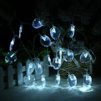 Colorful Creative Bright Stylish Box Transparent Style Christmas Outdoors Decoration Lights [18778652692]
