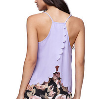LA Hearts Scallop Edge Racer Tank at PacSun.com