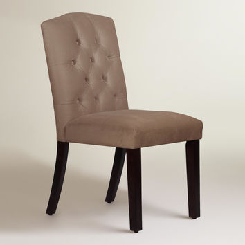 Velvet Tufted Zoey Dining Chair - World Market