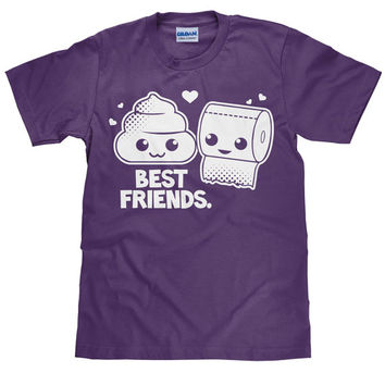 Funny Best Friends T Shirt - Hilarious Best Friend Tee - Unisex T shirt - Item 1090