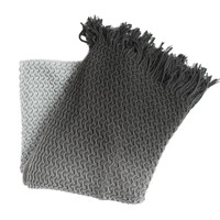 Diane Gray Knitted Throw