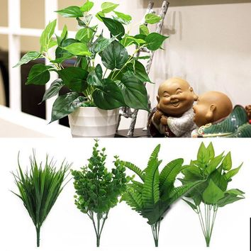 Artificial Plants For Outdoor, Fake Leaf Foliage. For Home Decoration.