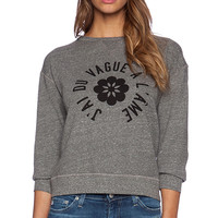 AG Adriano Goldschmied x Alexa Chung The New Wave Sweatshirt in Gray