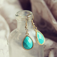 Stone Cast Earrings