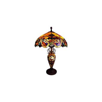 Chloe Lighting Demetra Aurora 26'' H Table Lamp with Bowl Shade