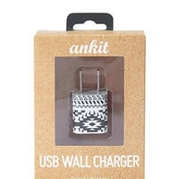 Tribal Printed USB Wall Charger