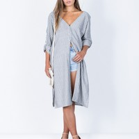 Clean Break Striped Tunic