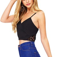 Mona Lace Crop Top