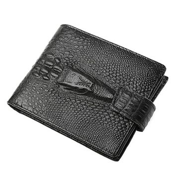Men Wallet Cow Leather Credit ID Card Holder #YW