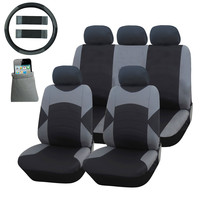 Furnistar 13-Piece Luxury Leatherette Car Vehicle Protective Seat Covers
