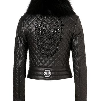 leather jacket zen | Philipp Plein