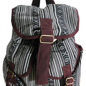 USA SHIPPING** Backpack, Hmong, Thailand, Ethnic, Handmade, Bag, Handbags, Rucksack, Vintage, Boho, Hippie, Ebroidered, Hill tribe