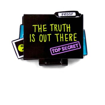 The Truth Is Out There Folding Moving Pin