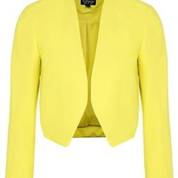 Cropped Jacket - Yellow