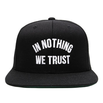 CLSC - In Nothing We Trust Snapback Cap (Black)