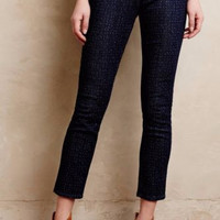 NWT AG ADRIANO GOLDSCHMIED DOTTED STEVIE PETITE SLIM STRAIGHT ANKLE JEANS
