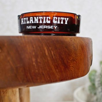 Vintage 1970s Atlantic City + Souvenir Ashtray