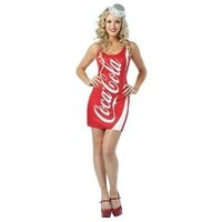 Rasta Imposta Coca-Cola Tank Dress