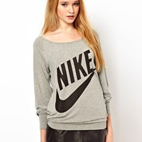 Nike Logo Sweatshirt at asos.com