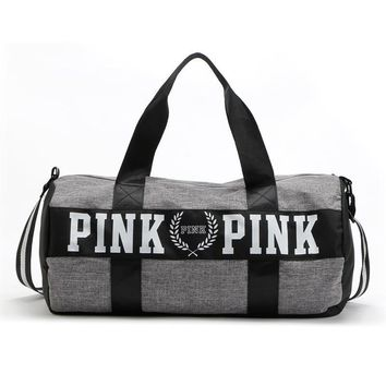 Day-First™ PINK Victoria's Secret Sport Yoga Satchel Travel Bag Shoulder Bag Crossbody
