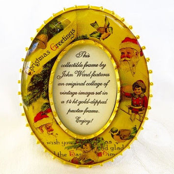Maximal Art Picture Frame John Wind Victorian Christmas