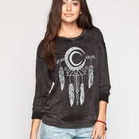 Workshop Black Moon Womens Tee Black  In Sizes
