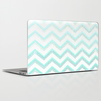 NUDE MINT Laptop & iPad Skin by Monika Strigel
