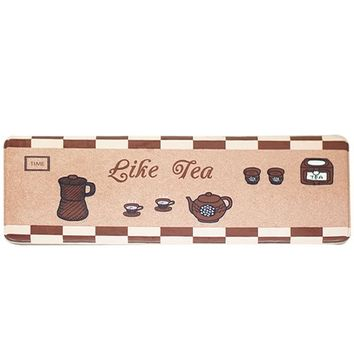 Autumn Fall welcome door mat doormat  Shipping Like Tea  Alfombras Hall Bathroom Kitchen Home Rug Absorbent Non-slip Coral Velvet Mats Carpet tapete AT_76_7