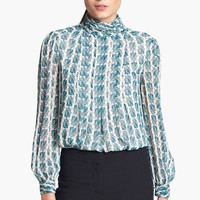 Tory Burch 'Jasmine' Silk Top | Nordstrom