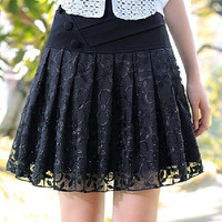 Black Slim Lace Dress