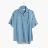 Indigo Courier Shirt in Kieran Wash : shopmadewell AllProducts | Madewell