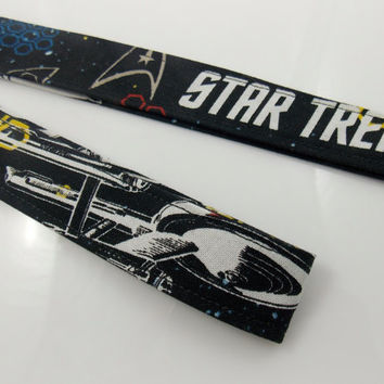 Star Trek Trekkies Enterprise Star Trek Lanyard Star Trek Key Holder Teacher Lanyard Enterprise Keychain Science Fiction Lanyard