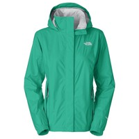 Spotlight - The North Face Women's Resolve Rain Jacket Kokomo Green | Anaconda