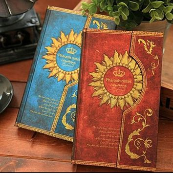 NEW Vintage Retro Paper Notebook Journal Old Ancient Magic Book Diary Notepad for Gift Korean Stationery office  school supplies