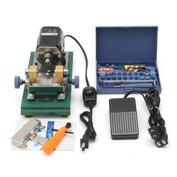Raitool 220V 280W Mini Lathe Beads Machine Polish Woodworking DIY Tools Punch Tools