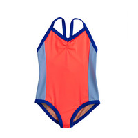 crewcuts Girls Colorblock One-Piece Swimsuit
