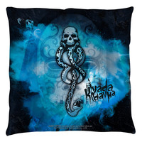 "HARRY POTTER SLYTHERIN 18"" THROW PILLOW"
