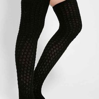 Honeycomb Over-The-Knee Sock-