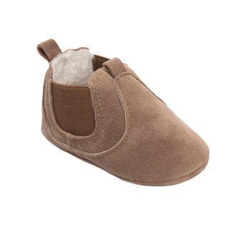 Baby Plush Softsole Moccasins Sizes 2.5-4