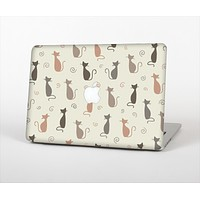 """The Vintage Solid Cat Shadows Skin Set for the Apple MacBook Air 11"""""""